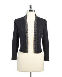 Calvin Klein - Black Gem Embedded Sweater - Lyst