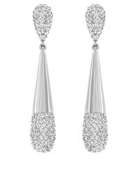 Swarovski | Metallic Cypress Drop Earrings | Lyst