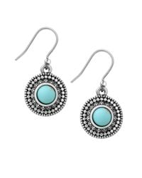 Lucky Brand | Metallic Jeweled Medallion Earrings | Lyst