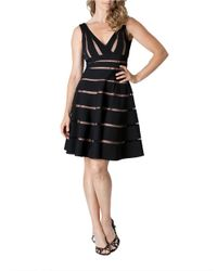 JS Collections - Black Cutout Dress - Lyst
