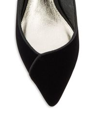 Adrianna Papell - Black Lydia Suede Pumps - Lyst