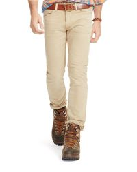 Polo Ralph Lauren | Natural Varick Slim-straight Anderson Stretch Jeans for Men | Lyst