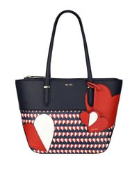 Nine West | Blue Reana Medium Heart Tote | Lyst