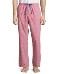 Tommy Bahama | Checkered Island Washed Poplin Pants for Men | Lyst