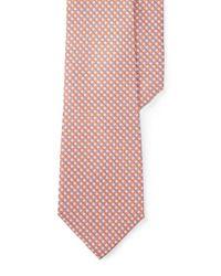 Polo Ralph Lauren | Orange Check Tie for Men | Lyst