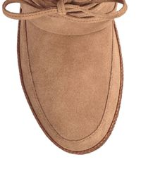 Ugg - Brown Kavar Leather Boots - Lyst