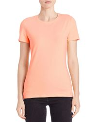 Lord & Taylor | Blue Plus Stretch-cotton Tee | Lyst