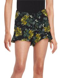 Free People | Multicolor Floral Flutter Shorts | Lyst