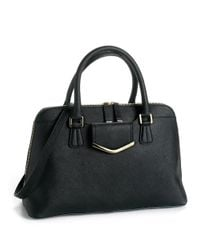 Calvin Klein | Black Colorblock Satchel | Lyst
