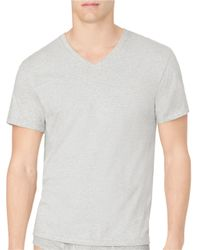 Calvin Klein | Multicolor Two-pack Cotton Classic V-neck Tee for Men | Lyst