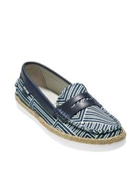 Cole Haan | Blue Pinch Weekender Penny Loafers | Lyst