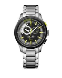 BOSS - Gray Yachting Timer Ii Stainless Steel Bracelet Watch for Men - Lyst
