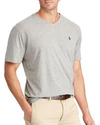 Polo Ralph Lauren - Gray Classic-fit Cotton Tee for Men - Lyst