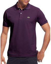 Lacoste | Purple Classic L.12.12 Polo for Men | Lyst