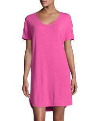 Lord & Taylor | Pink Knit Nightshirt | Lyst
