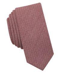 Original Penguin - Red Biloki Solid Tie for Men - Lyst