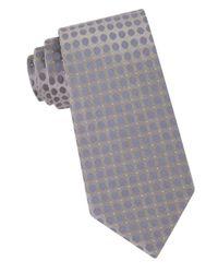 CALVIN KLEIN 205W39NYC - Gray Dotted Silk Tie for Men - Lyst