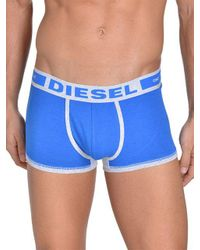 DIESEL - Blue Hero Stretch-cotton Boxer Briefs for Men - Lyst