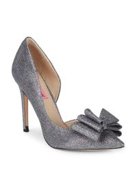 Betsey Johnson - Metallic Prince D'orsay Evening Pumps - Lyst