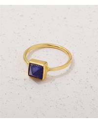 Lou & Grey - Blue We See Stars Gemstone Pyramid Ring - Lyst