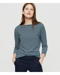 Lou & Grey | Multicolor Sunset Jersey Boatneck Tee | Lyst