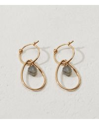Lou & Grey | Metallic Tai Jewelry Huggie Gemstone Earrings | Lyst