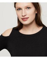 Lou & Grey - Black Lna Striped Ashley Jane Top - Lyst