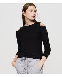 Lou & Grey | Black Lna Ashley Jane Top | Lyst