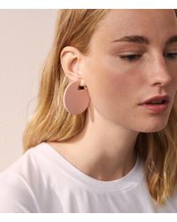 Lou & Grey - Pink Machete Jewelry Claire Earrings In Rose - Lyst