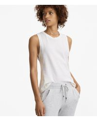 Lou & Grey - White Lacausa Tiny Muscle Tee - Lyst