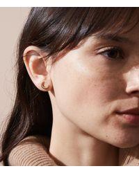 Lou & Grey - Metallic Mie By Honey & Bloom Crescent Moon Stud Earrings - Lyst