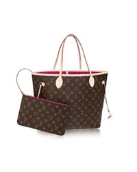 Louis Vuitton | Brown Neverfull Mm | Lyst