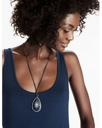 Lucky Brand - Metallic Stardust Pendant Necklace - Lyst