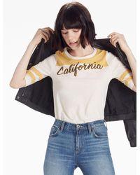 Lucky Brand | Multicolor California Script Tee | Lyst