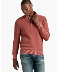 Lucky Brand | Multicolor Washed Out Mock Neck for Men | Lyst