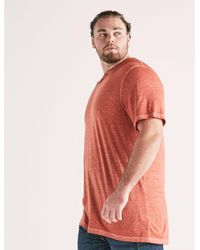 Lucky Brand - Red Big And Tall Venice Burnout Notch Tee for Men - Lyst