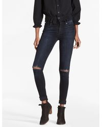 f85abc2266556 Lucky Brand Brooke Legging Jean In Cactus Flats - Lyst