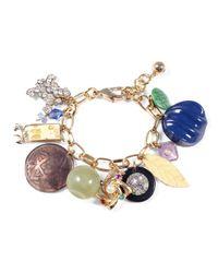Lulu Frost - Multicolor *vintage* Charm Bracelet #4 - Lyst