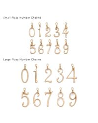 Lulu Frost - Multicolor Plaza Number Charm #6 Large - Lyst