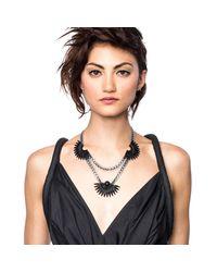 Lulu Frost - Beacon Necklace - Black - Lyst