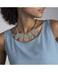 Lulu Frost - Multicolor Hibiscus Necklace - Turquoise - Lyst