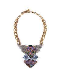 Lulu Frost | Metallic *vintage* 100 Year Necklace #1 | Lyst