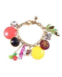 Lulu Frost - Multicolor *vintage* Charm Bracelet #11 - Lyst