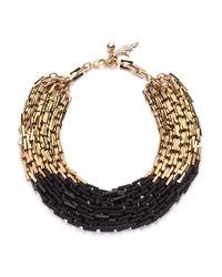 Lulu Frost - Black Poison Necklace - Lyst