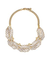 Lulu Frost - Multicolor Goldtone Drift Necklace - Lyst
