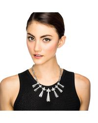 Lulu Frost - Metallic Crystaline Necklace - Lyst