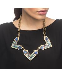 Lulu Frost - Multicolor Petra Statement Necklace - Lyst