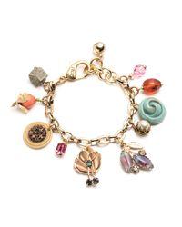 Lulu Frost - Metallic Vintage Voyage Charm Bracelet 17 - Lyst