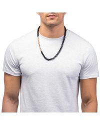 Lulu Frost | Black George Frost 75/25 Necklace | Lyst