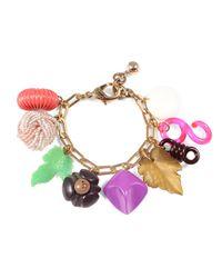 Lulu Frost - Multicolor *vintage* Charm Bracelet #9 - Lyst